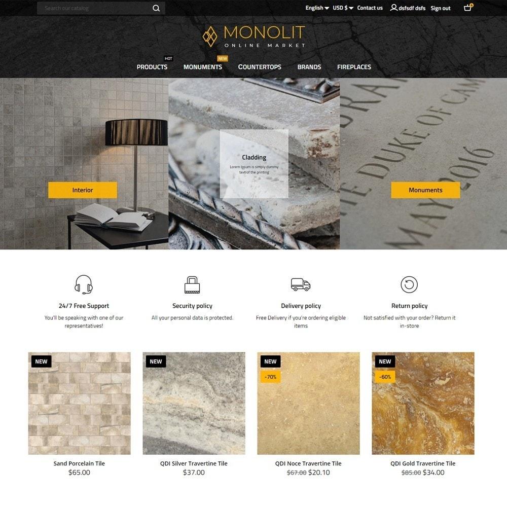 theme - Art & Culture - Monolit - 2