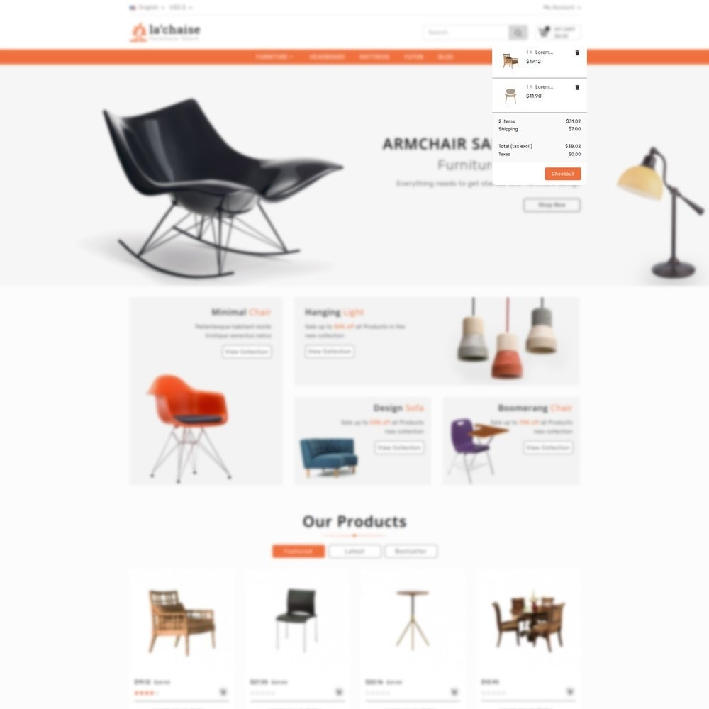 theme - Mode & Schoenen - Furniture store - 7