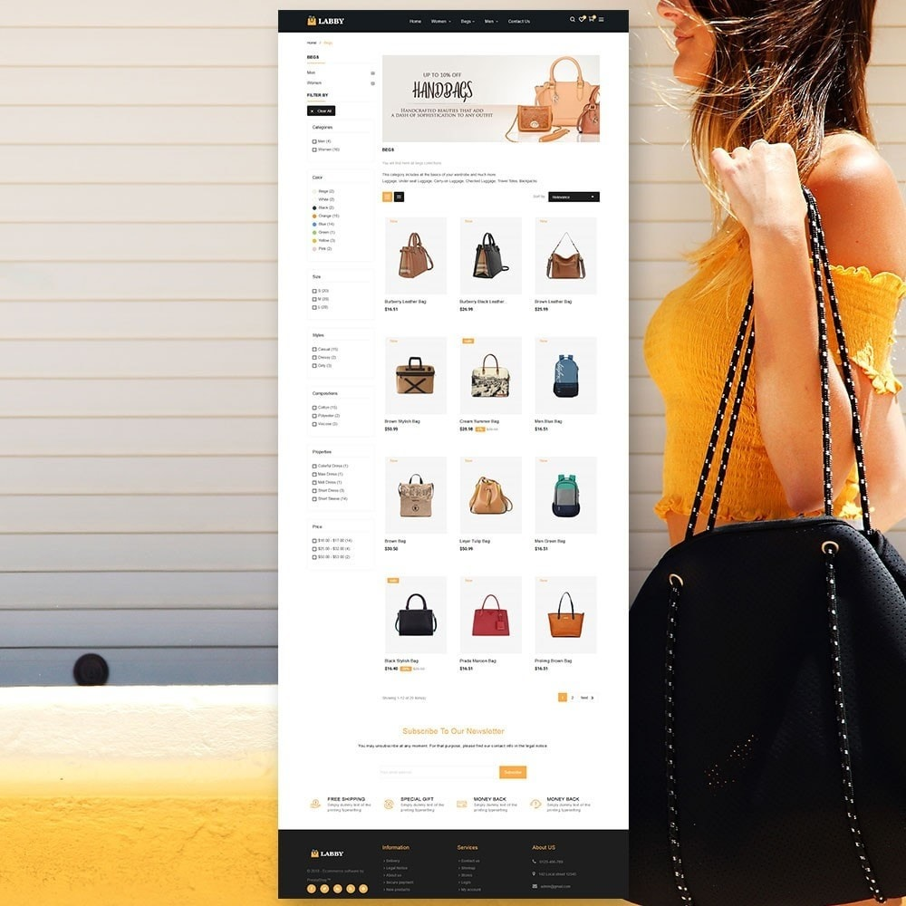 theme - Jewelry & Accessories - Bag Parallax Store - 3