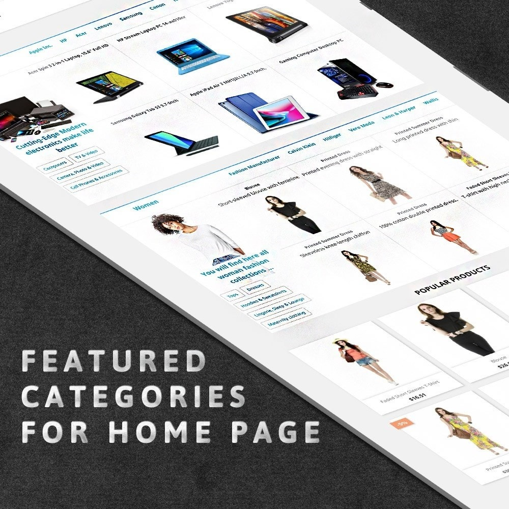 module - Page Customization - MAX Category Navigation (AliExpress) - 2