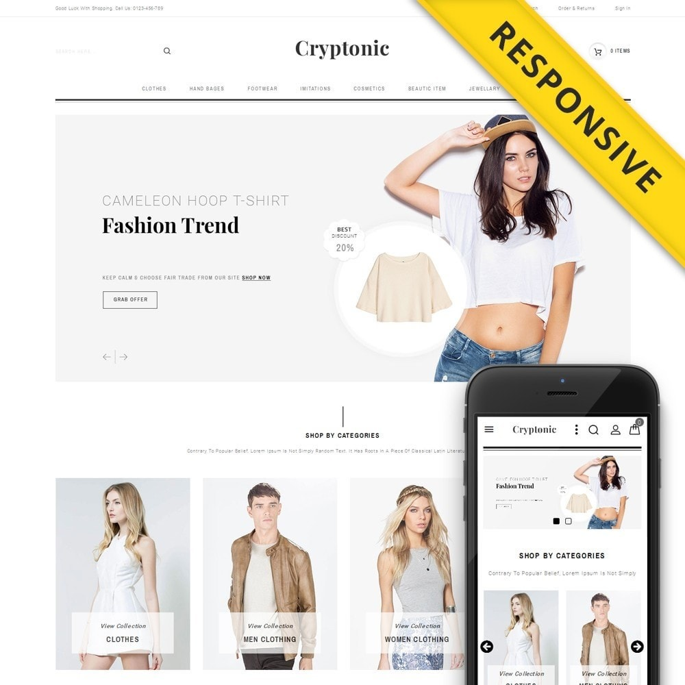 theme - Moda & Calzature - Cryptonic Accessories Store - 1