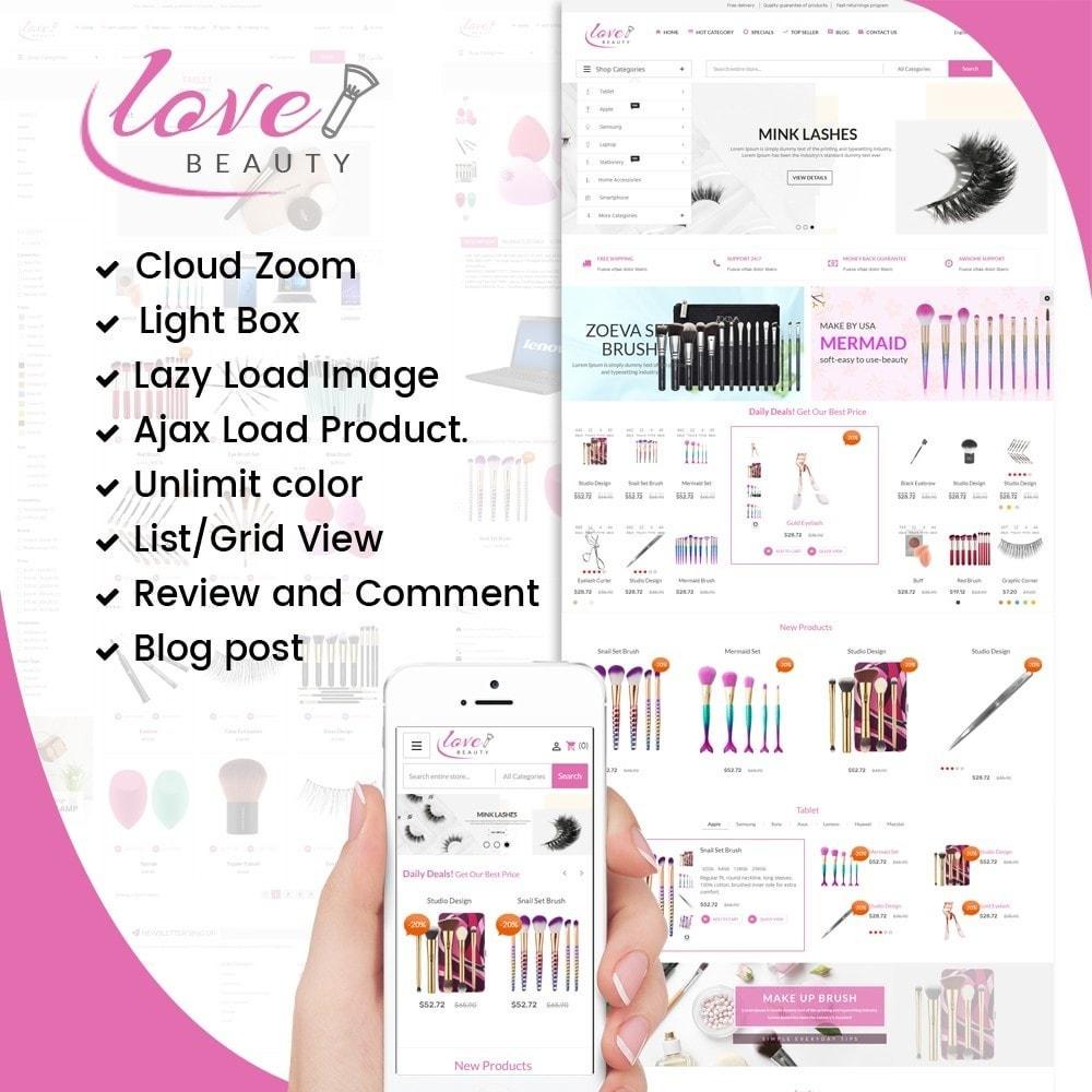 theme - Gesundheit & Schönheit - Beauty Love Maquillage - 1