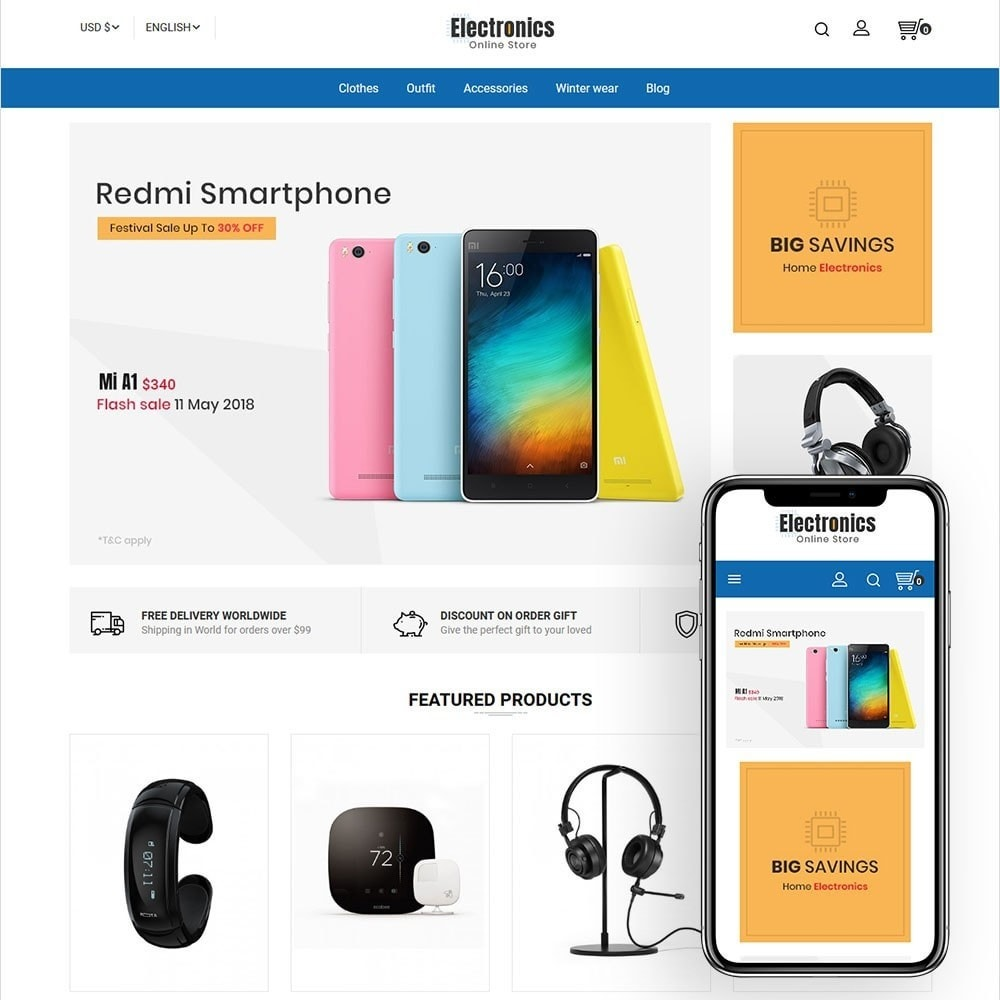 theme - Electronique & High Tech - Electronics Online Store - 1