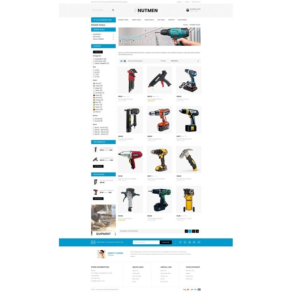 theme - Coches y Motos - Nutmen Tools Store - 3