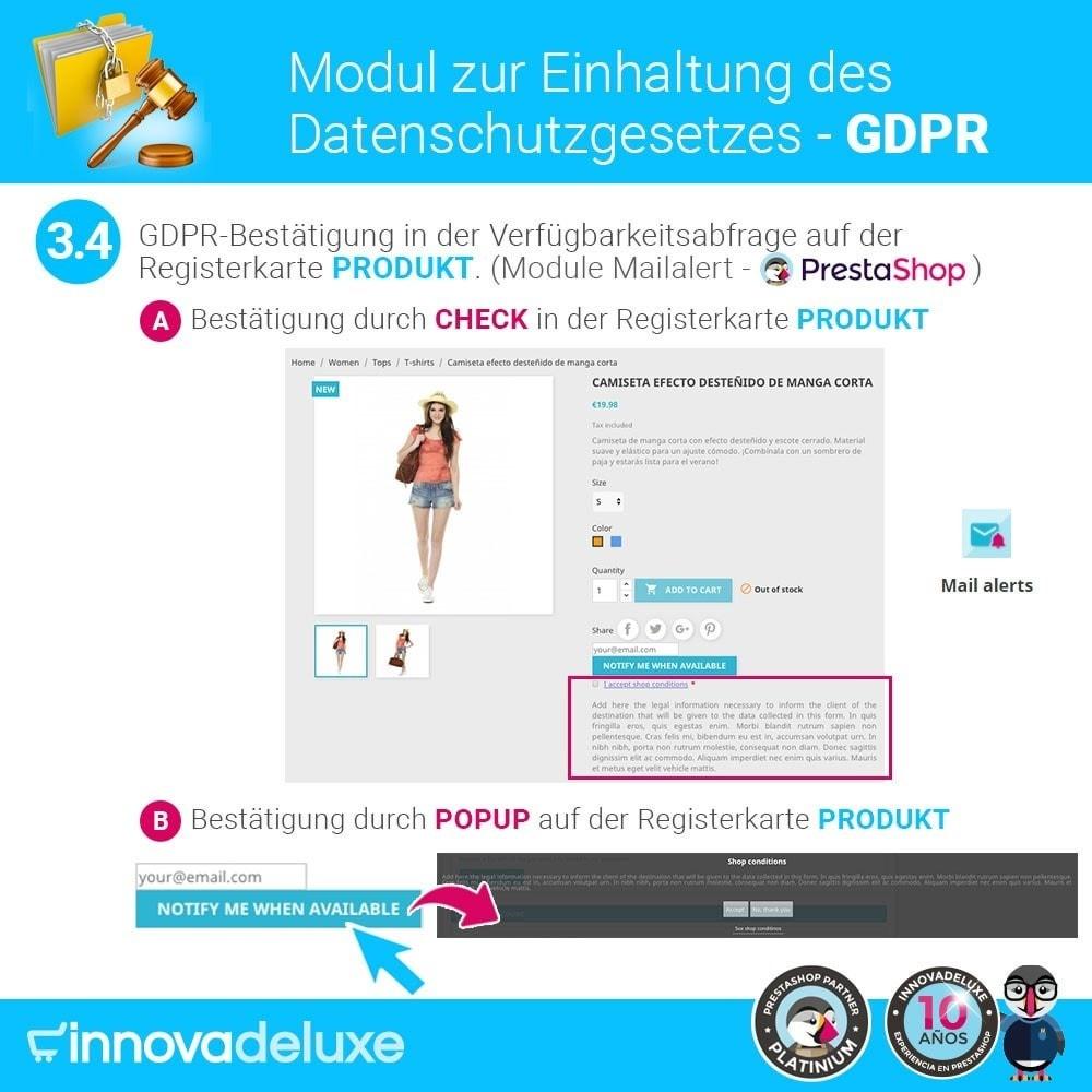 module - Rechtssicherheit - Einhaltung der Datenschutzgesetze - GDPR - 7