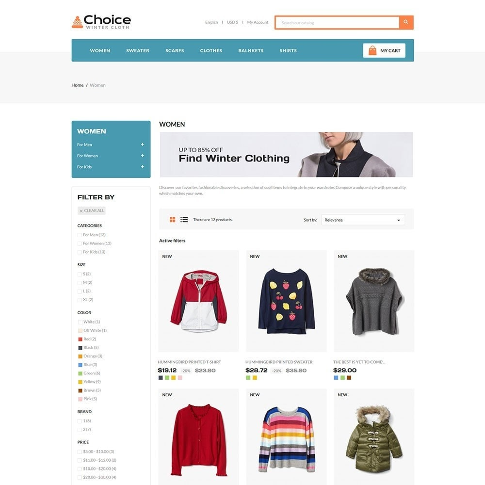 theme - Moda y Calzado - Choice Fashion Store - 3
