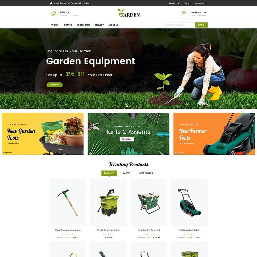 theme - Home & Garden - Garden Tools - 2
