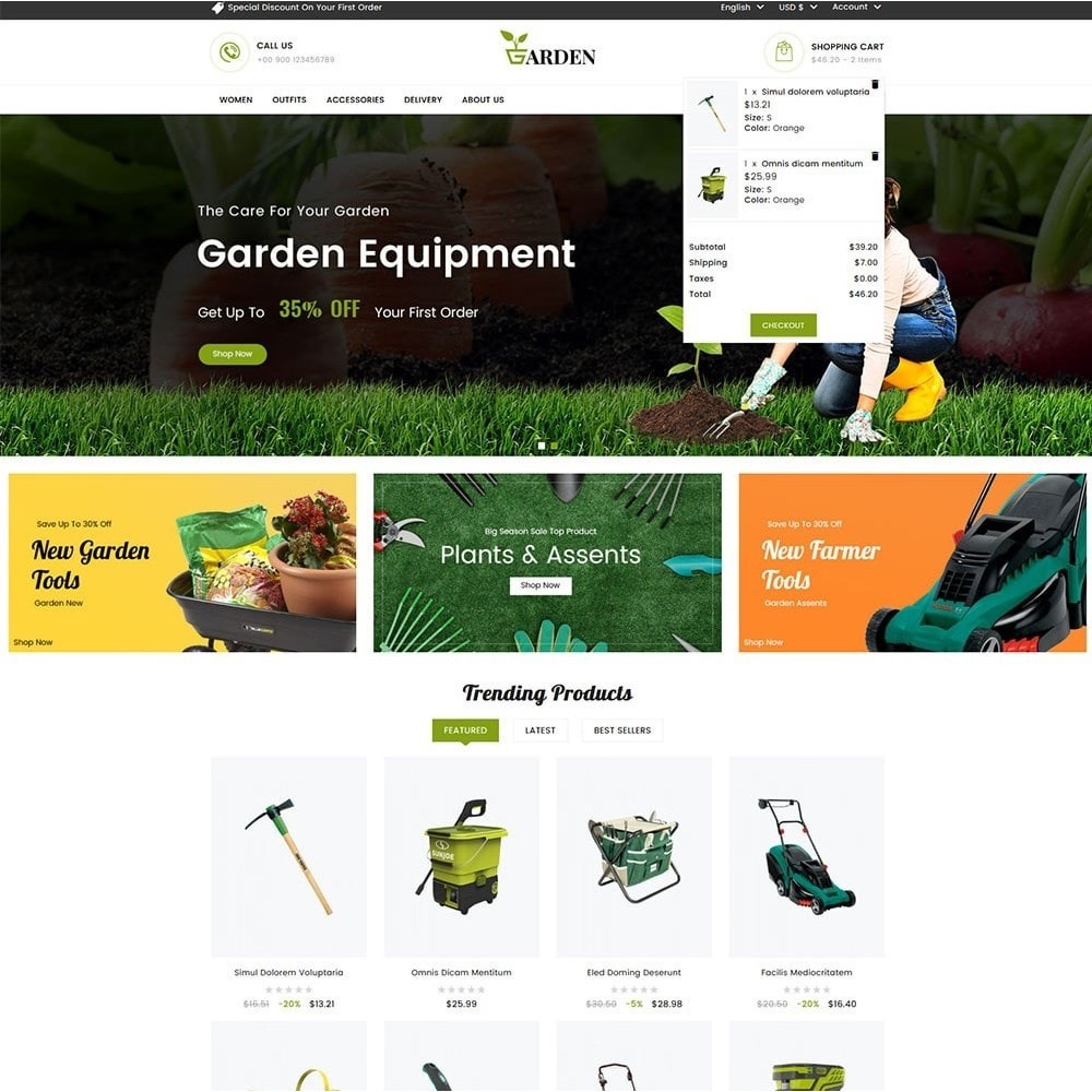 theme - Home & Garden - Garden Tools - 3
