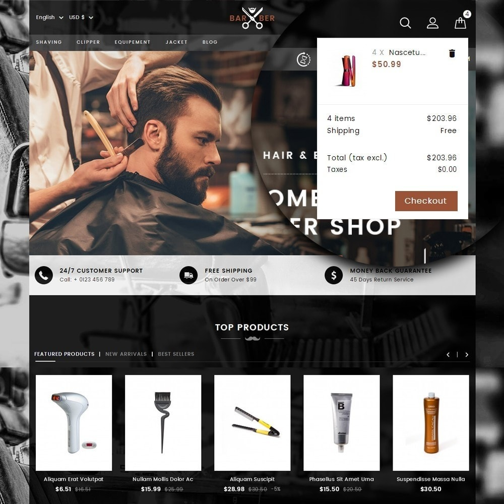 theme - Health & Beauty - Barber Store - 7