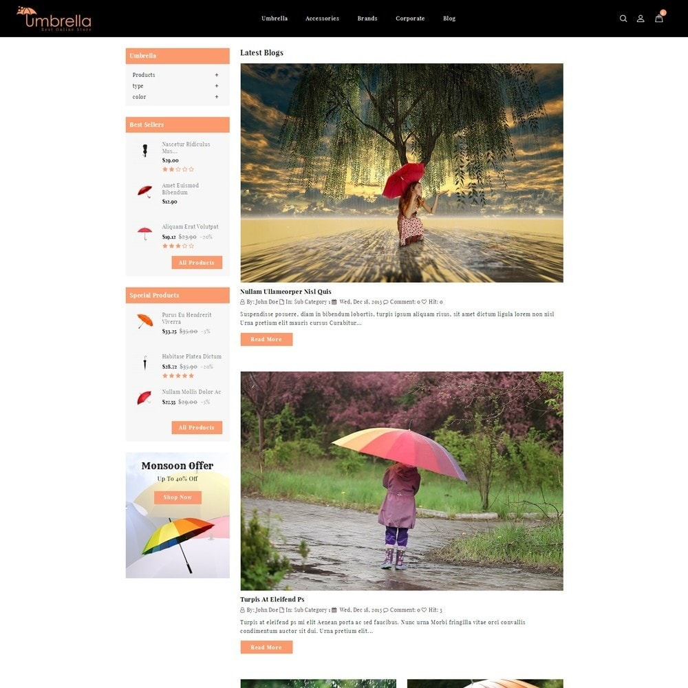 theme - Moda y Calzado - Umbrella Store - 7