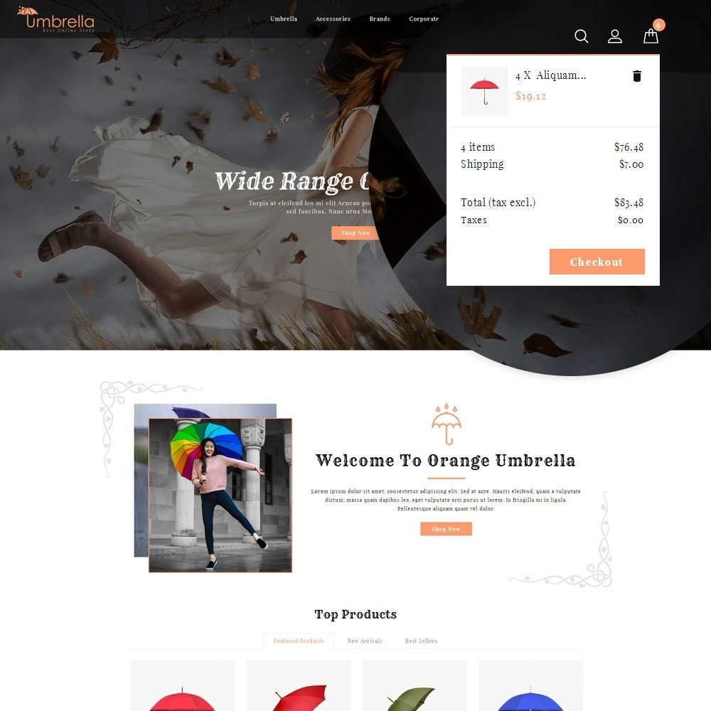 theme - Moda y Calzado - Umbrella Store - 10