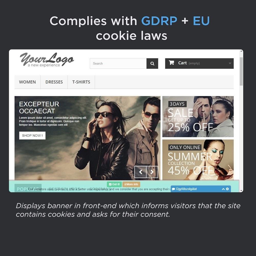 module - Législation - European Cookie Law Pro (GDPR compliant) - 2