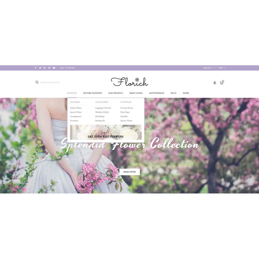 theme - Regali, Fiori & Feste - Florich - Wedding Flowers Store - 6