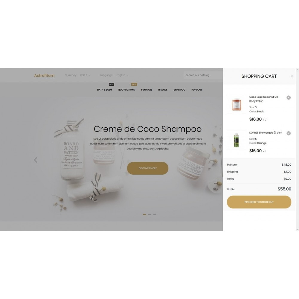 theme - Gesundheit & Schönheit - Astrofitum Cosmetics - 7