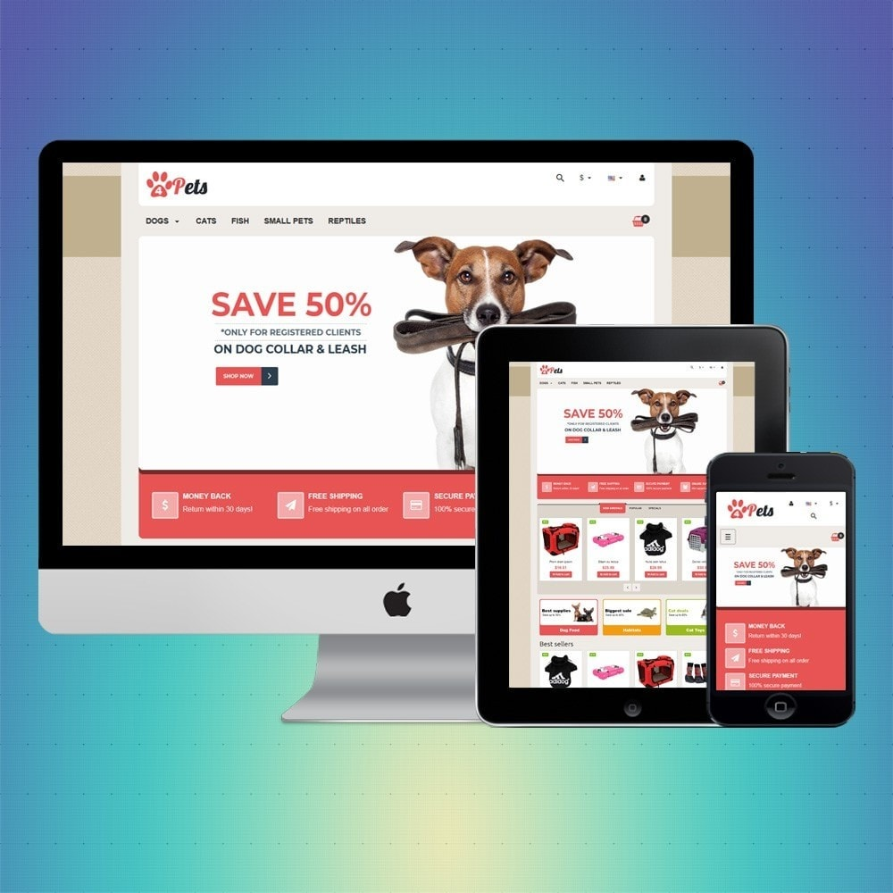 theme - Animaux - VP_4pets Store - 1