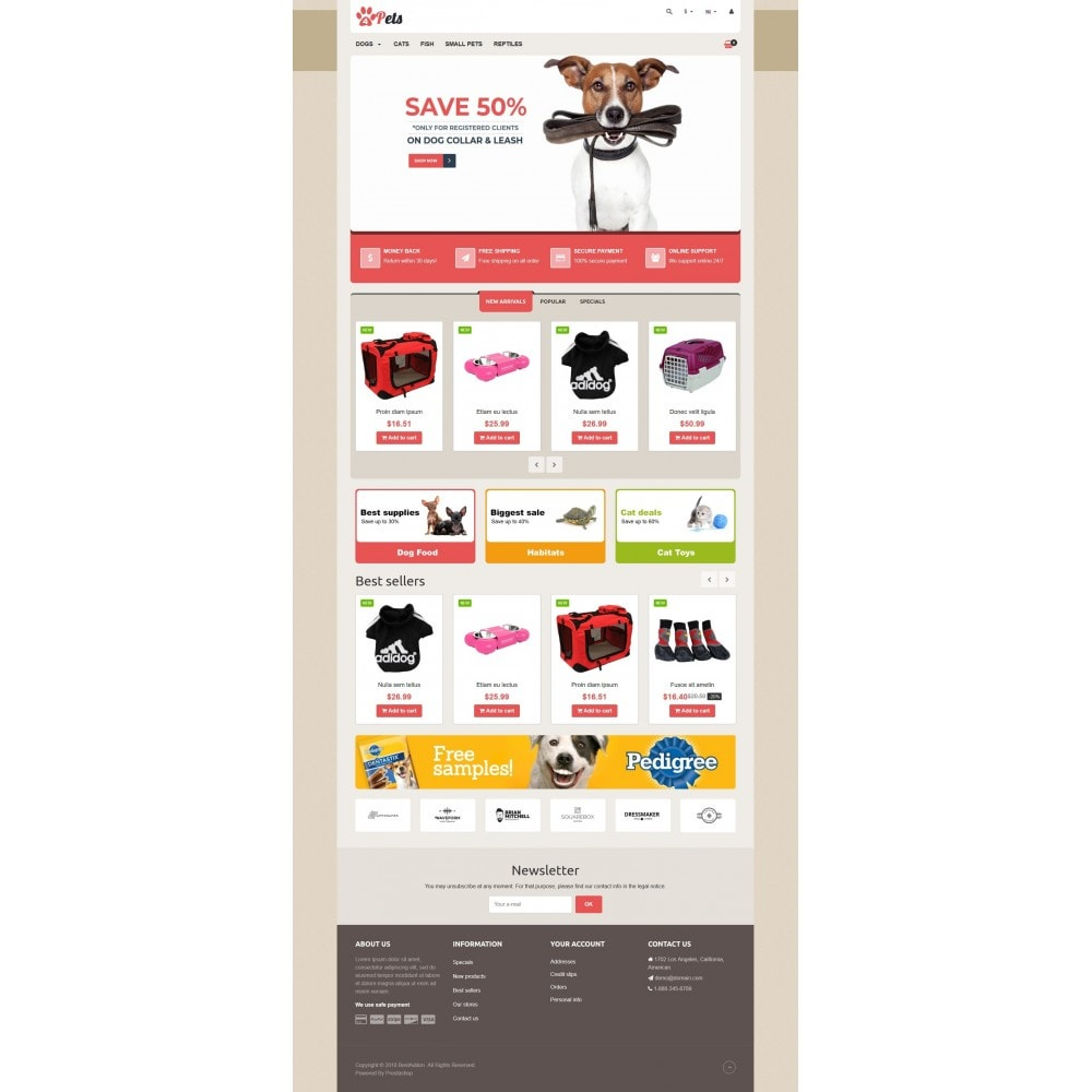 theme - Animaux - VP_4pets Store - 2