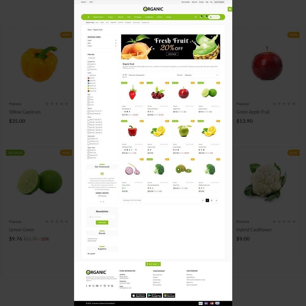 theme - Lebensmittel & Restaurants - The Organic Shop - 3