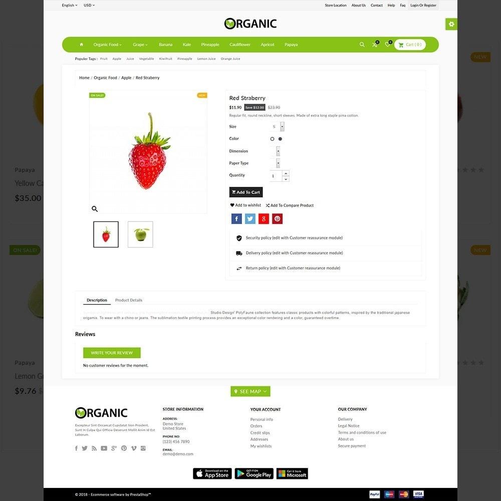 theme - Alimentos & Restaurantes - The Organic Shop - 5