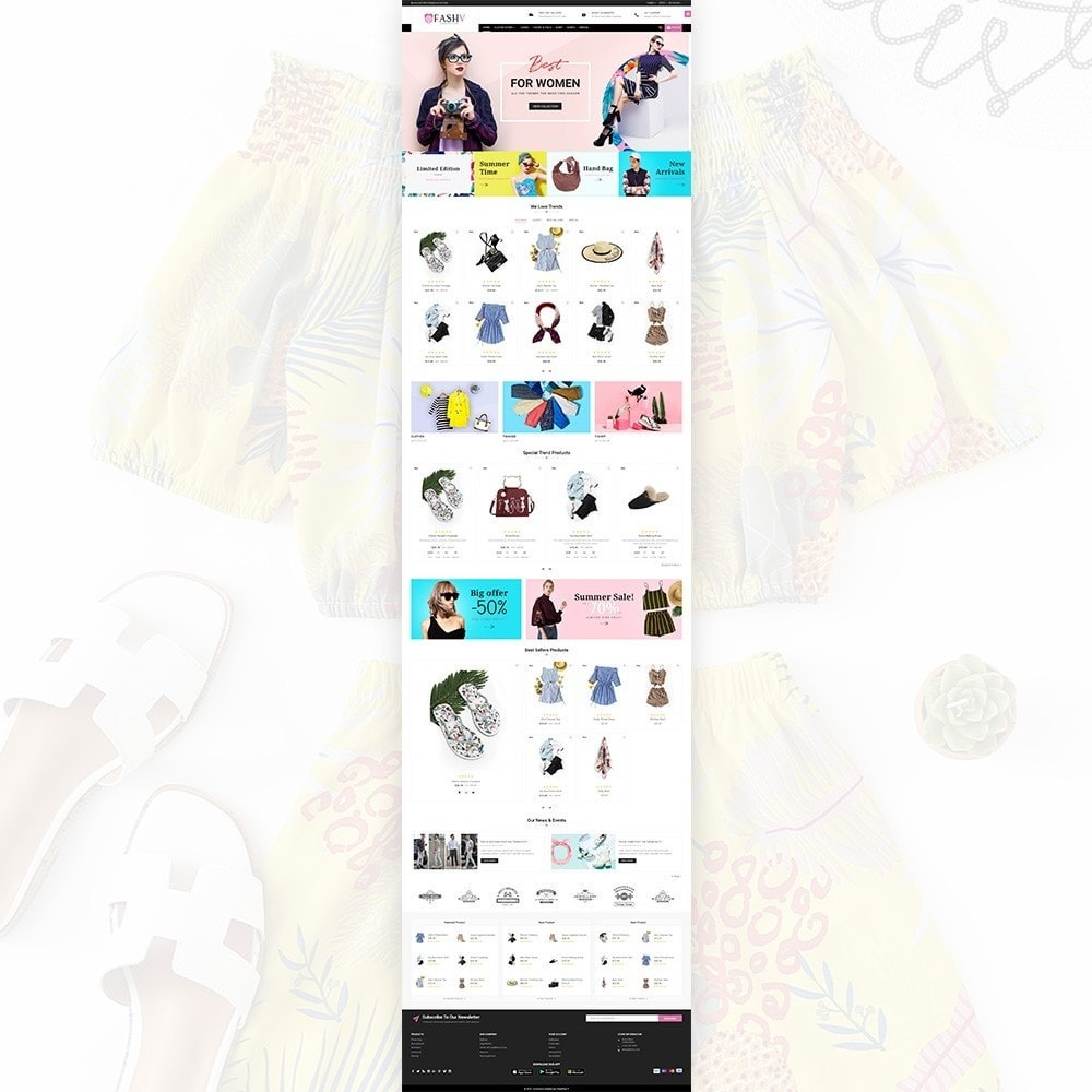 theme - Moda & Calçados - FashV – Fashion Stylish Super Store - 2