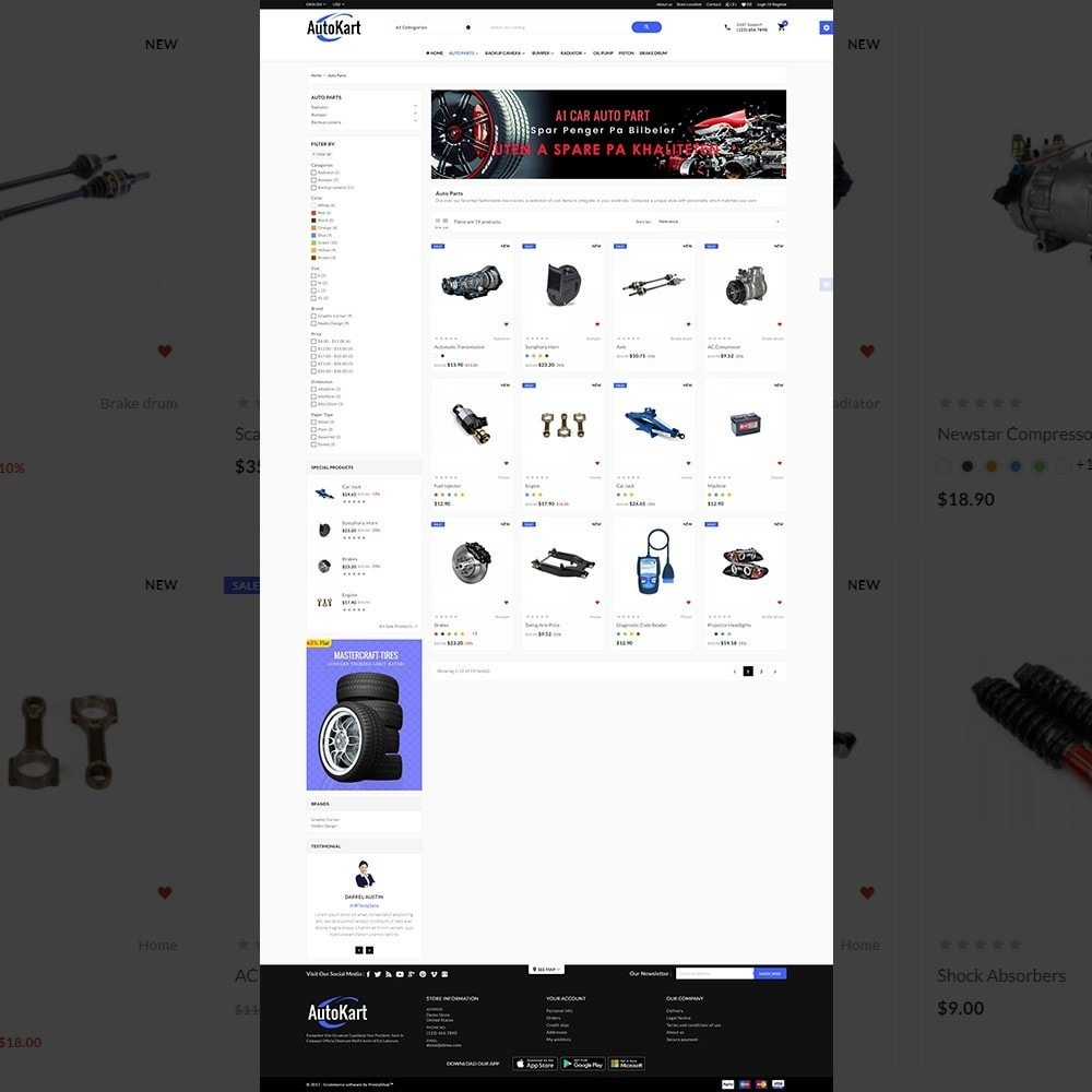 theme - Automotive & Cars - Auto Kart – Tools and Car Accessories Store - 3