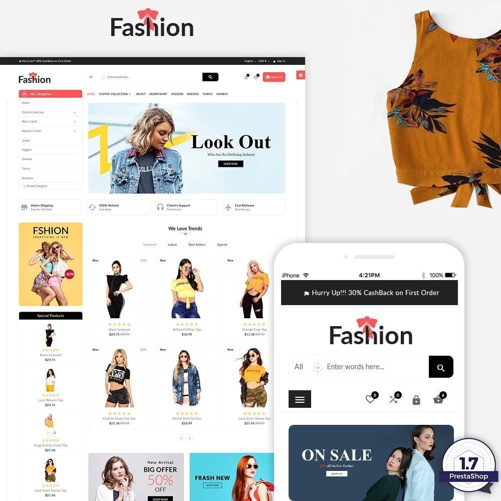 theme - Mode & Schuhe - Stylish Fashion Multi Store - 1