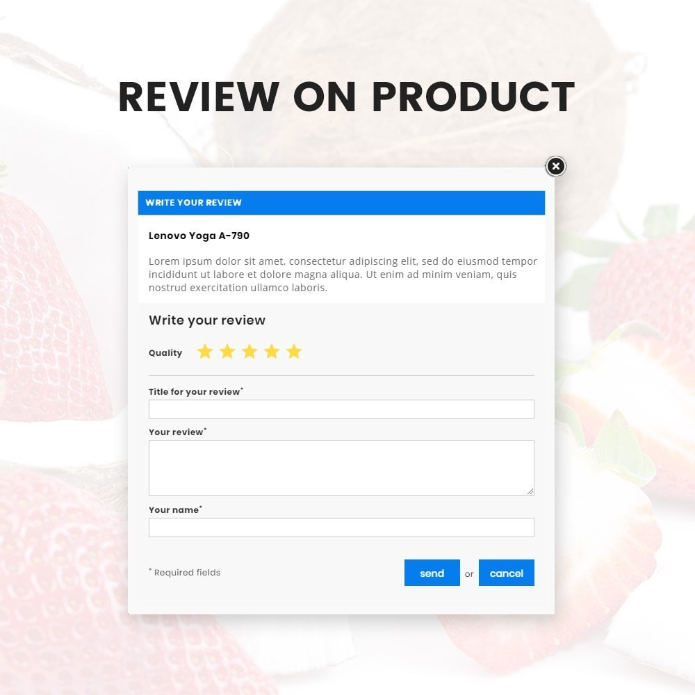 theme - Food & Restaurant - Organic Fresh–Food Grocery–Market Store - 9