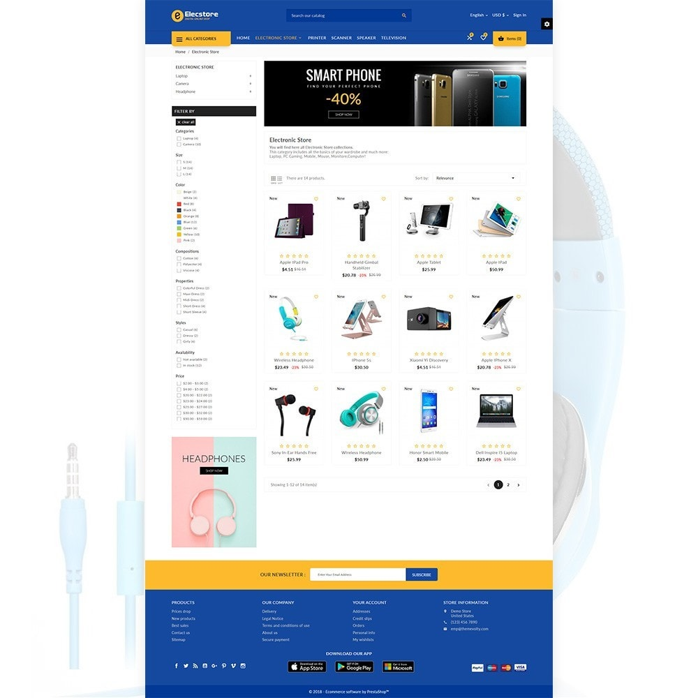 theme - Electronics & Computers - Elec Store – Electronic Multipurpose Store - 3