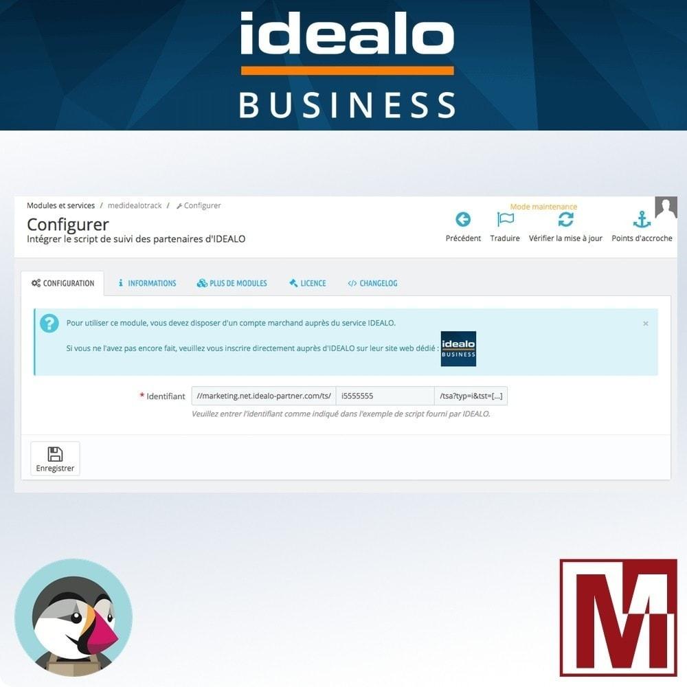 module - Gestion des Prix - Comparateur de prix IDEALO tracking pixel - 2