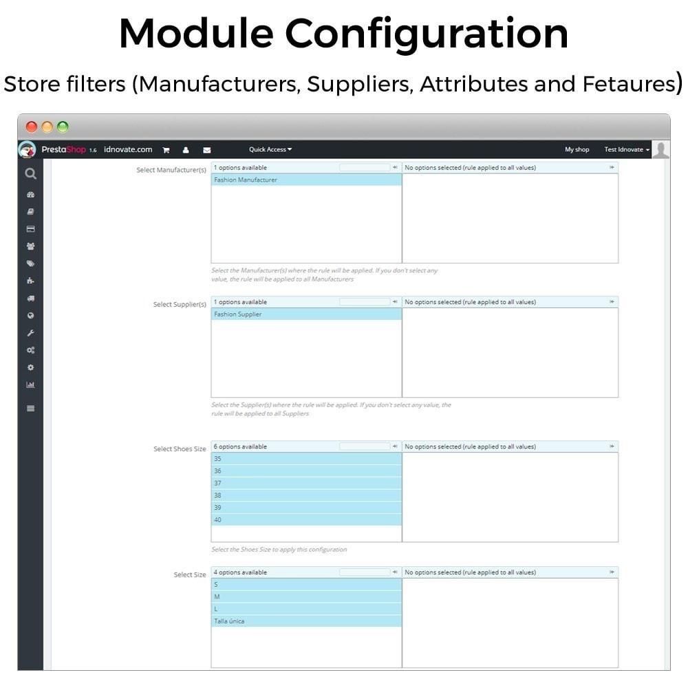 module - Inscripción y Proceso del pedido - Mínimos, máximos, múltiples y límites de importe - 7