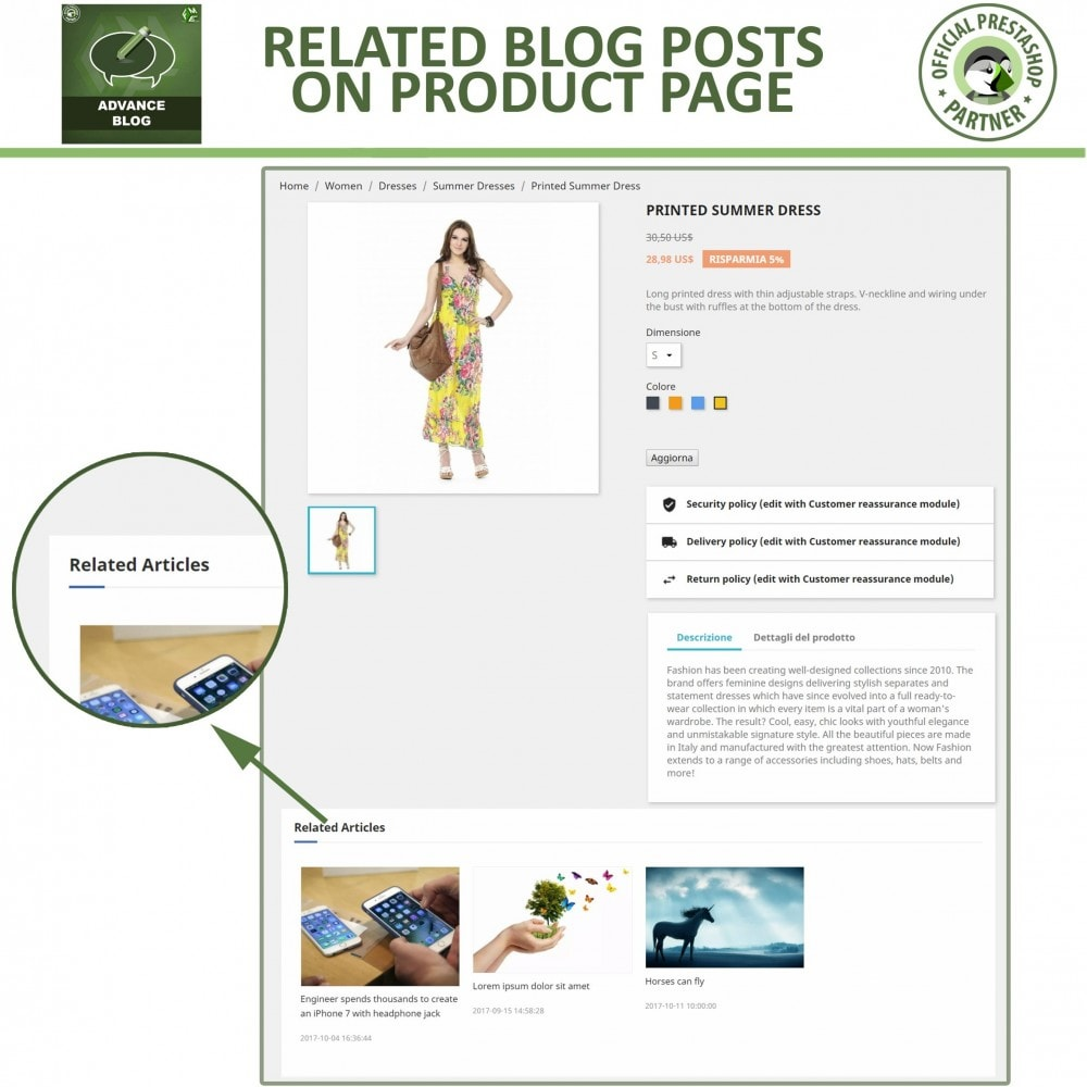 module - Blog, Forum & News - Responsive Professional Blog - SEO Friendly - 6