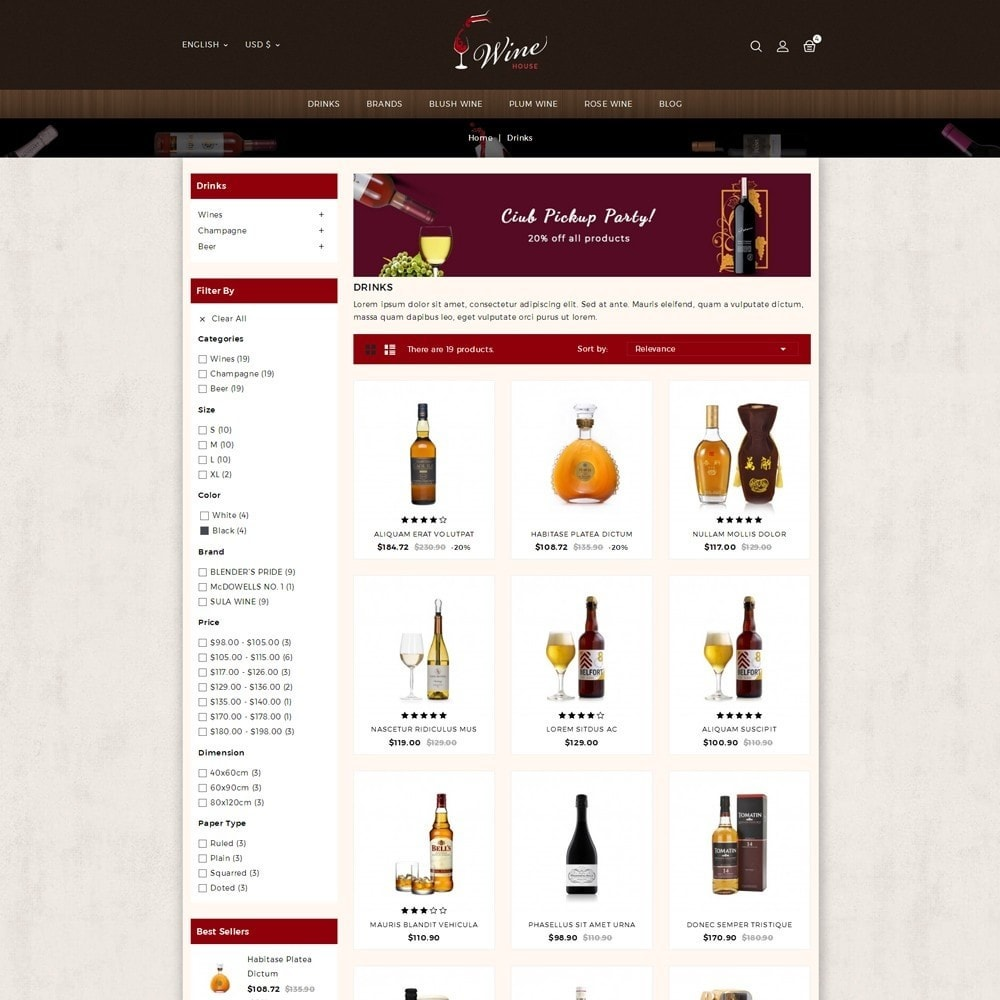 theme - Boissons & Tabac - Wine House Online Store - 3