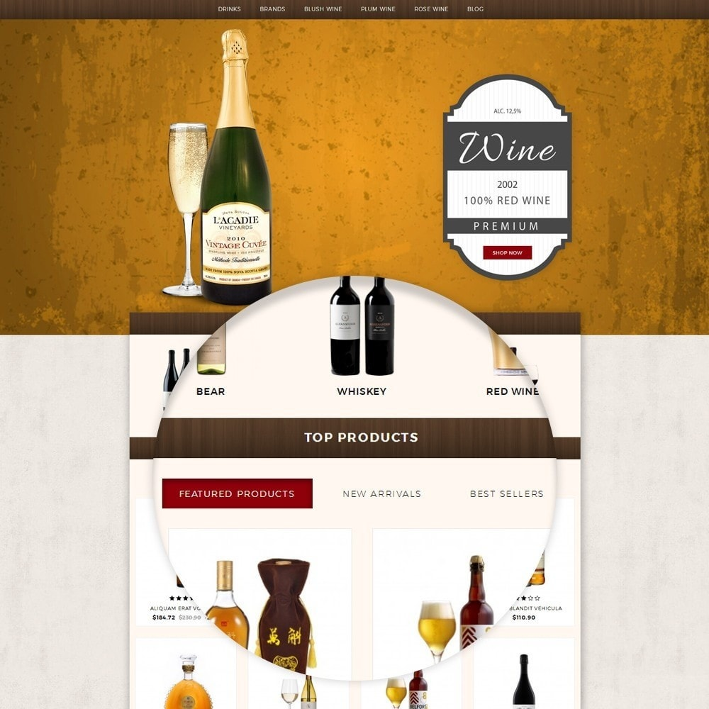 theme - Boissons & Tabac - Wine House Online Store - 7