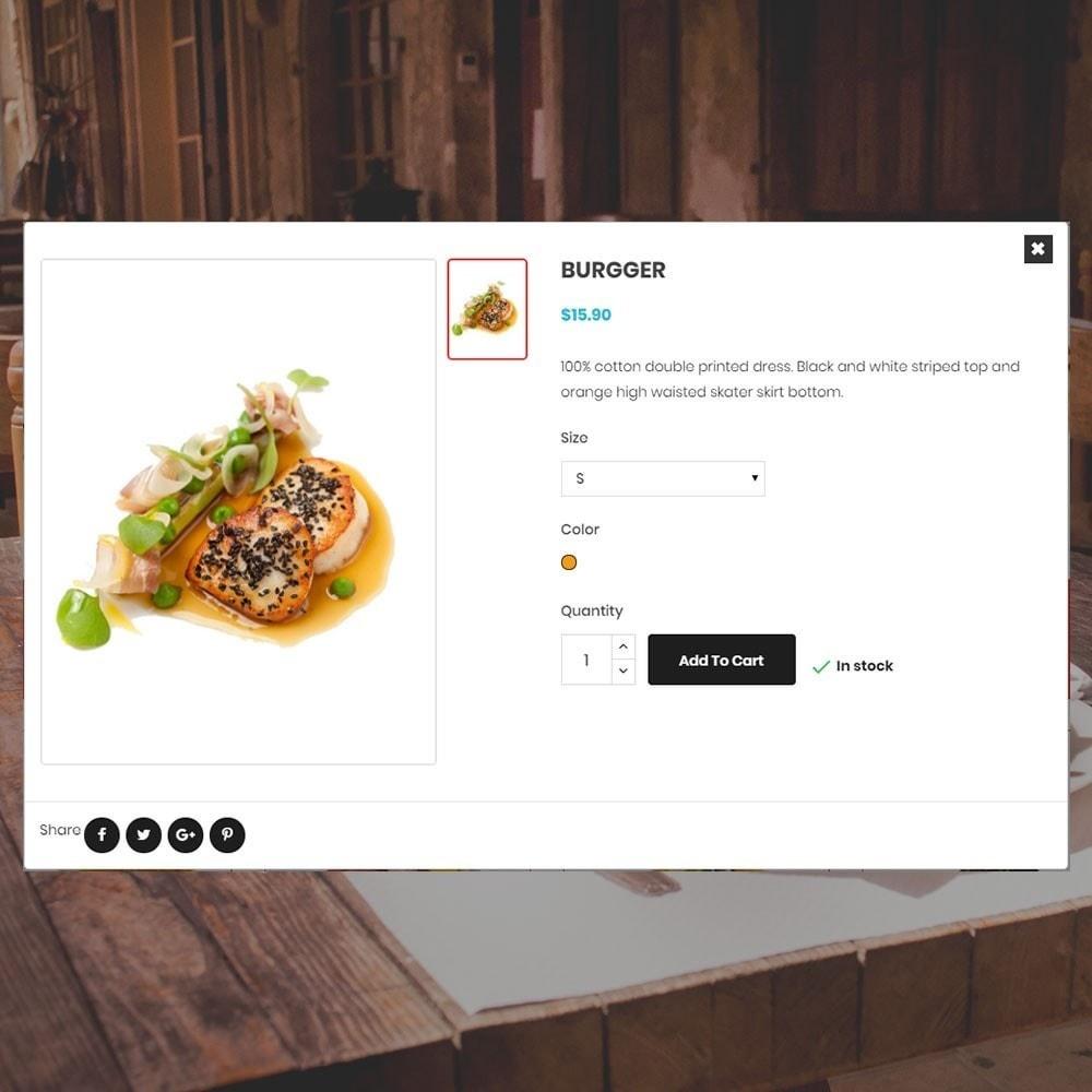 theme - Alimentation & Restauration - Magasin de restaurant - 7