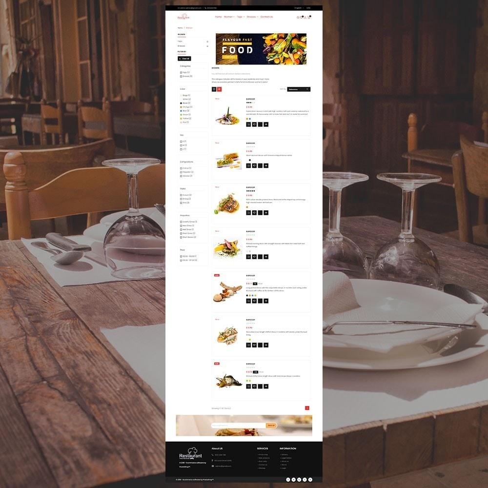 theme - Alimentos & Restaurantes - Loja de Restaurantes - 5