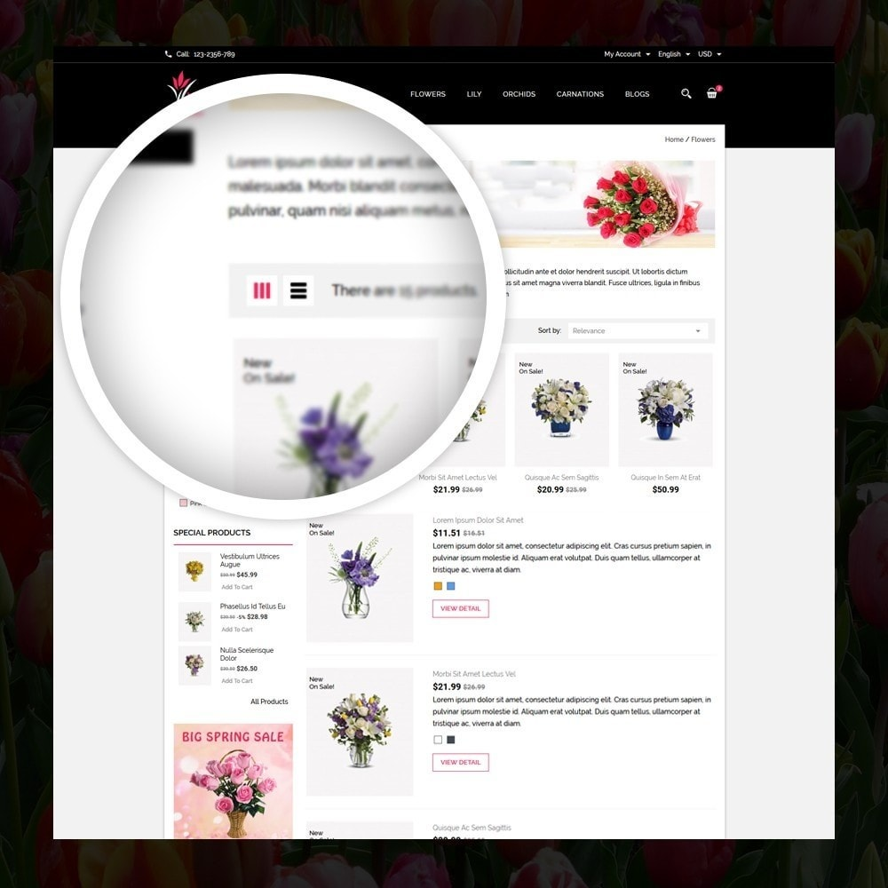 theme - Gifts, Flowers & Celebrations - Woodley - The Flowers Shop - 3