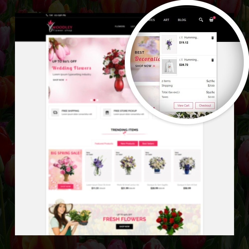 theme - Gifts, Flowers & Celebrations - Woodley - The Flowers Shop - 6