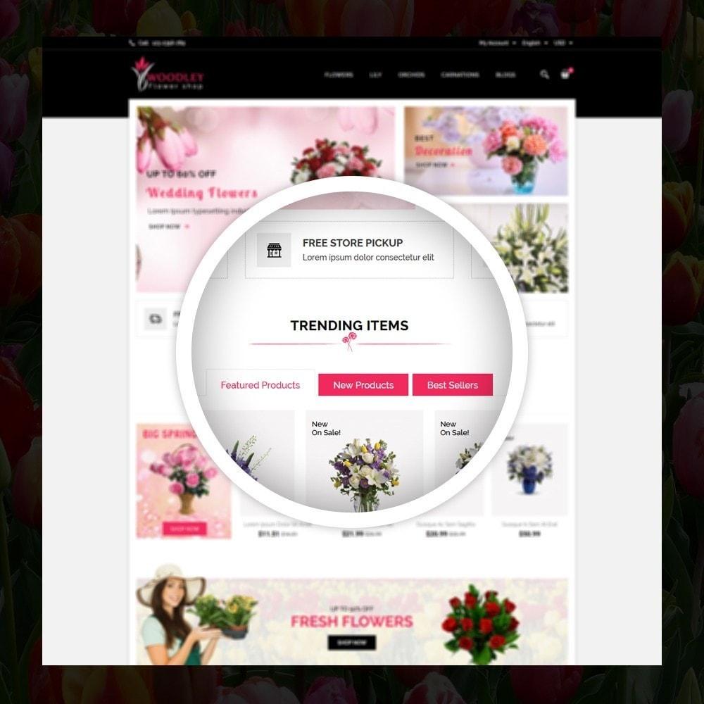 theme - Cadeaux, Fleurs et Fêtes - Woodley - The Flowers Shop - 9