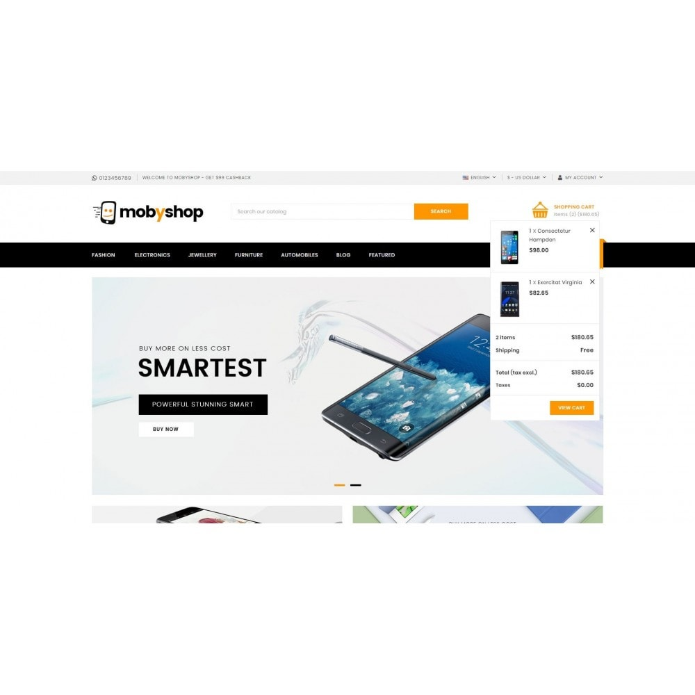theme - Electronics & Computers - Mobyshop - Online Mobile Store - 8