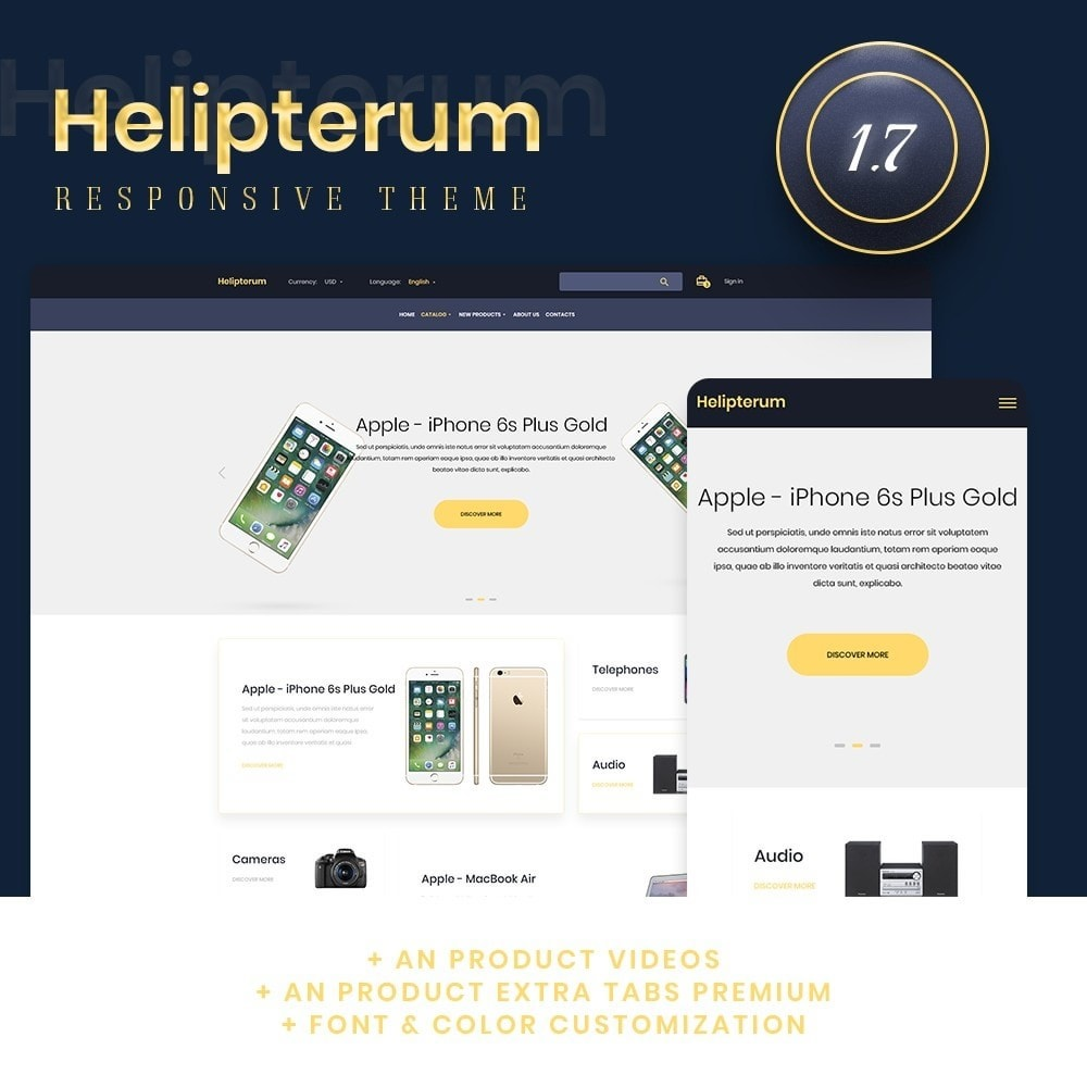 theme - Electronics & Computers - Helipterum - High-tech Shop - 1
