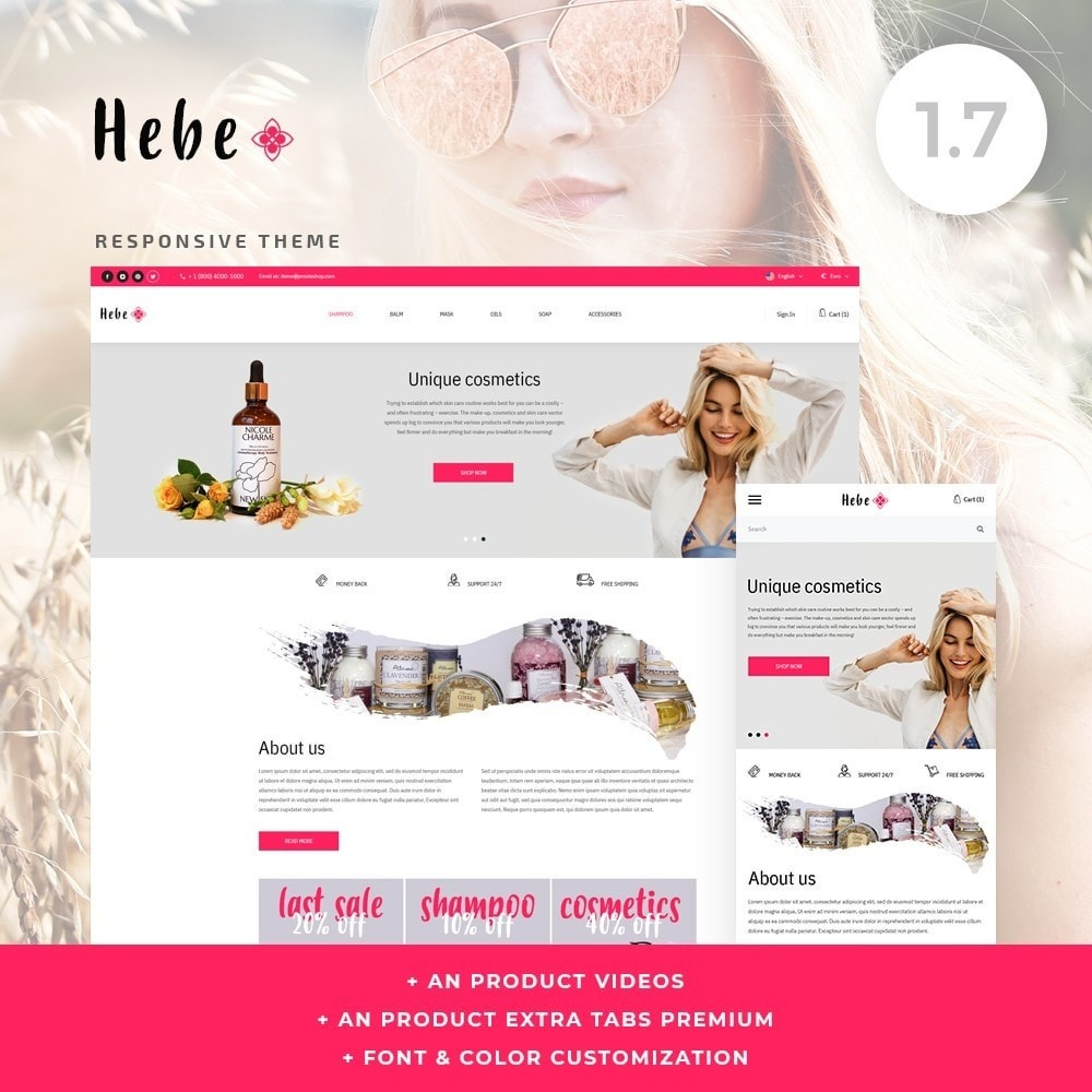 theme - Health & Beauty - Hebe Cosmetics - 1