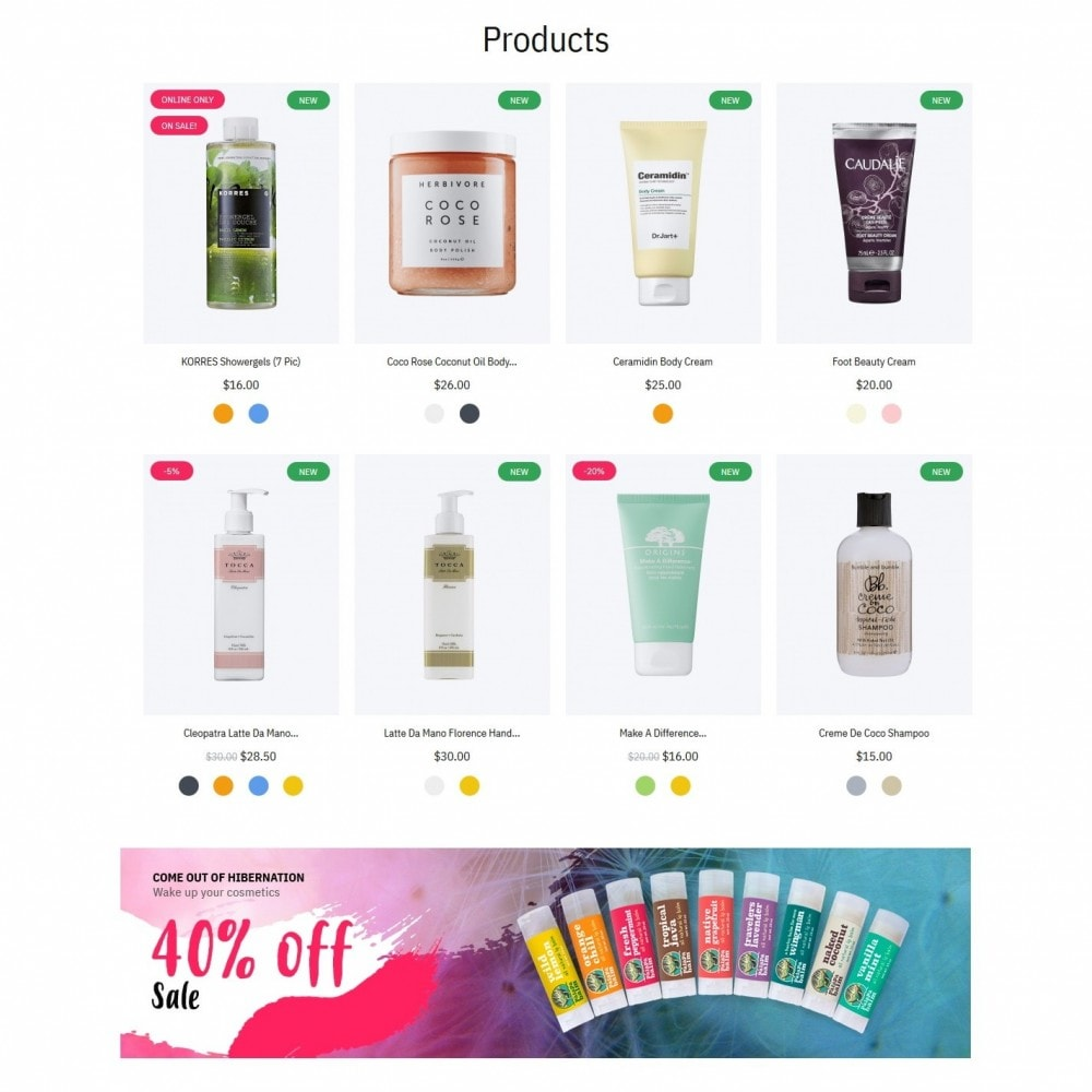 theme - Health & Beauty - Hebe Cosmetics - 3