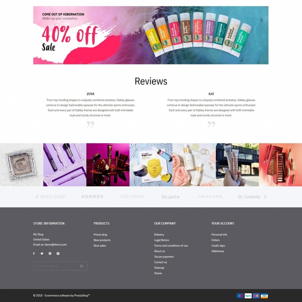 theme - Health & Beauty - Hebe Cosmetics - 4