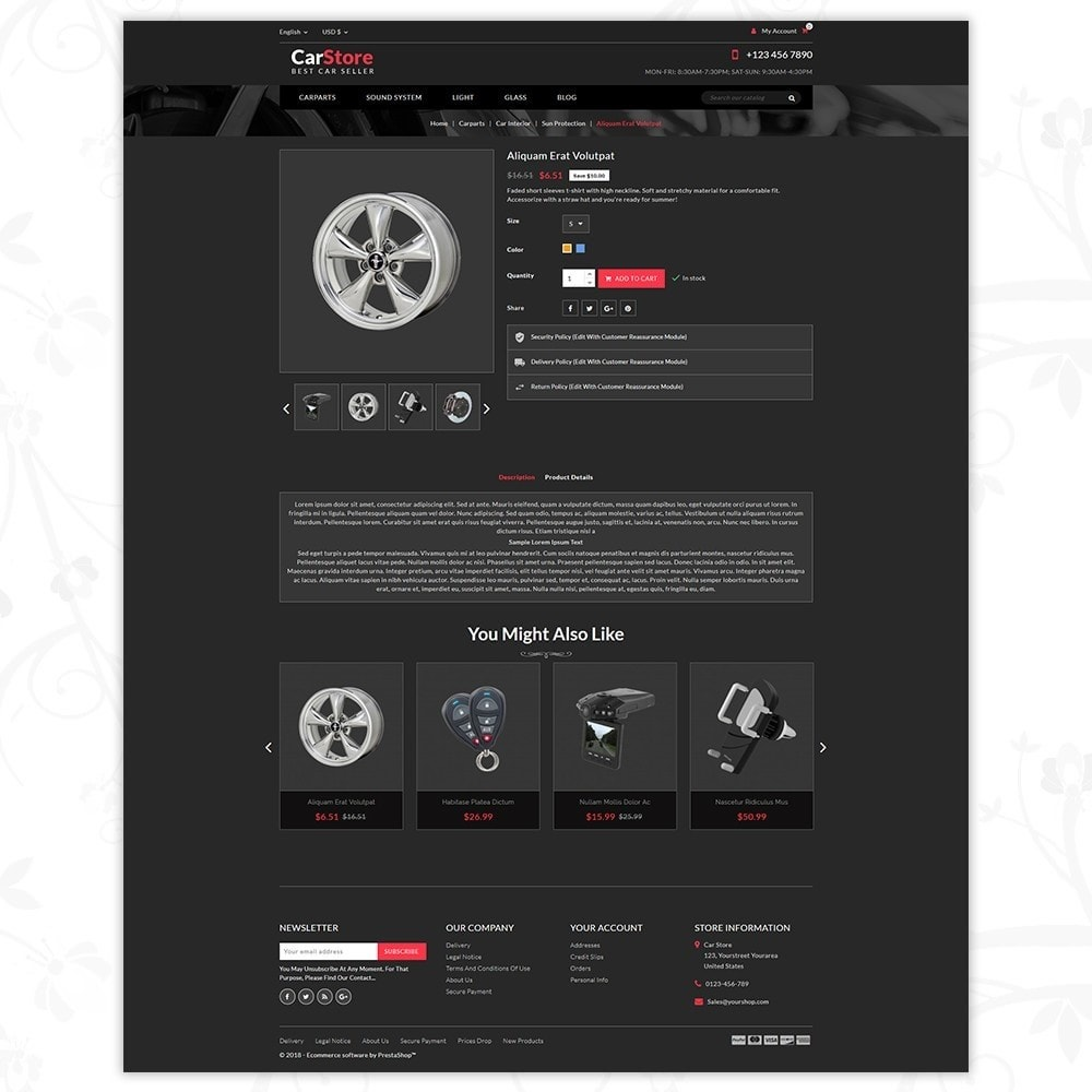 theme - Carros & Motos - Car Store - Car Accessories - 5