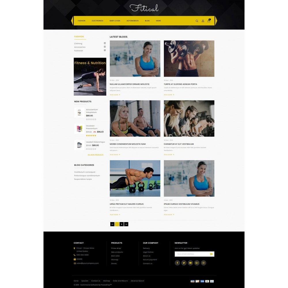 theme - Health & Beauty - Fitical - Fitness Store - 9