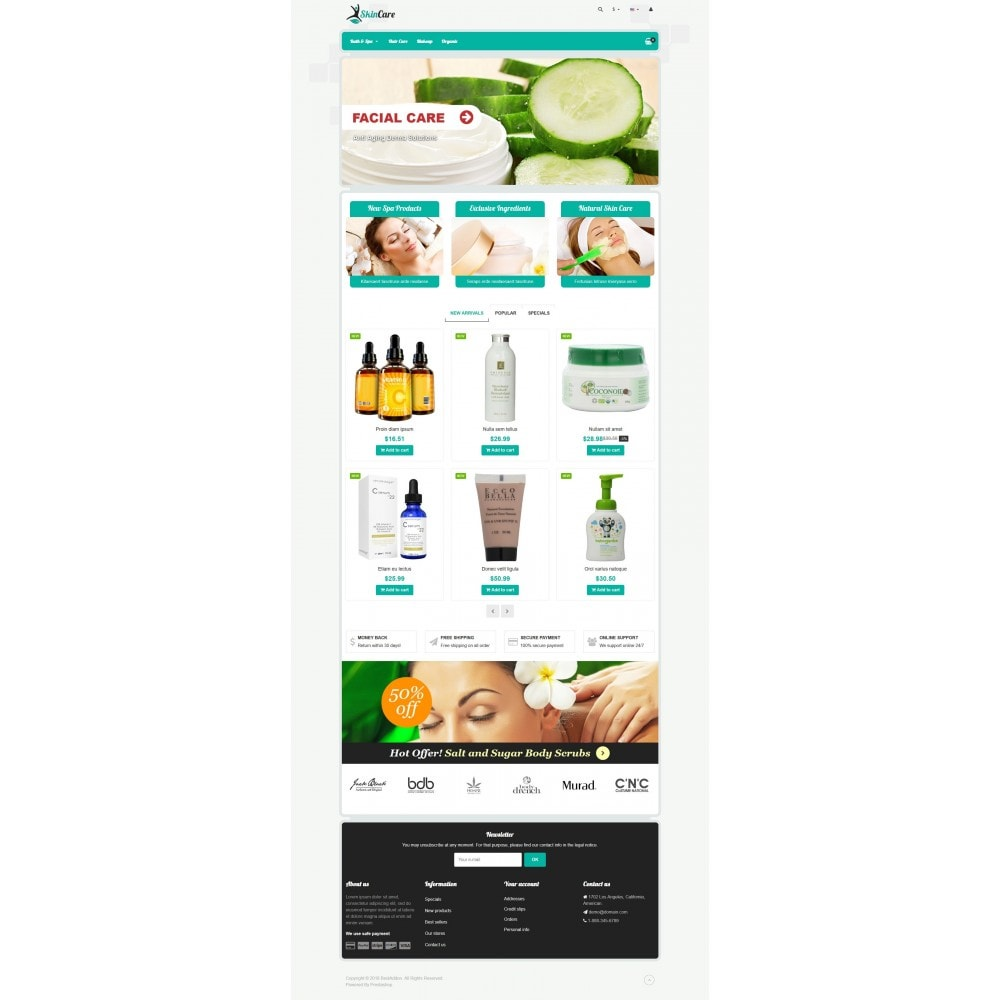 theme - Health & Beauty - VP_SkinCare Store - 2