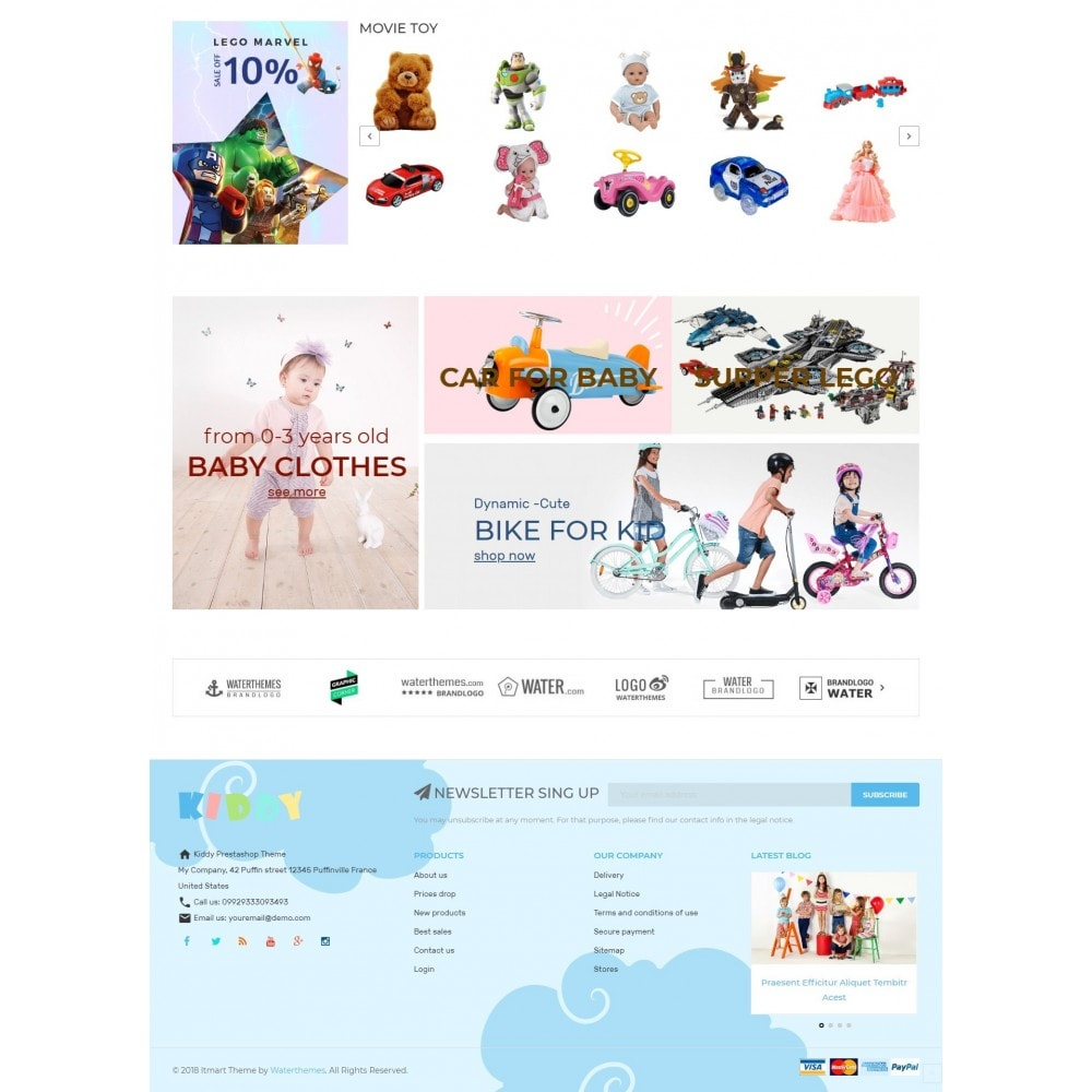 theme - Дети и Игрушки - Kiddy & Children Store - 4