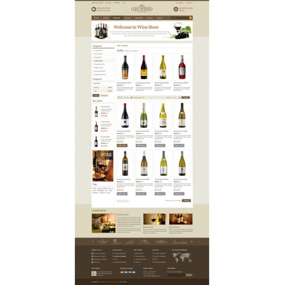 theme - Boissons & Tabac - Leo Wines - Alcool, Restaurant & Magasin d'alcool - 3