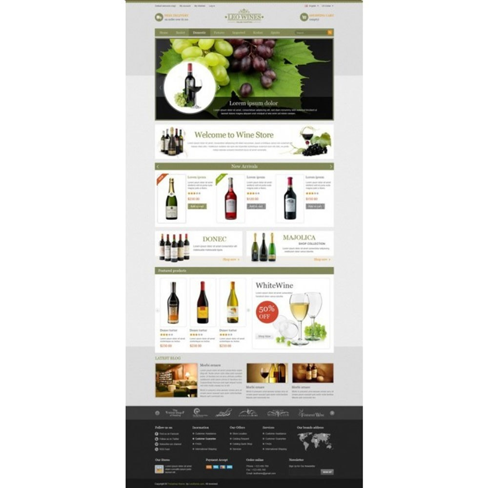 theme - Boissons & Tabac - Leo Wines - Alcool, Restaurant & Magasin d'alcool - 6