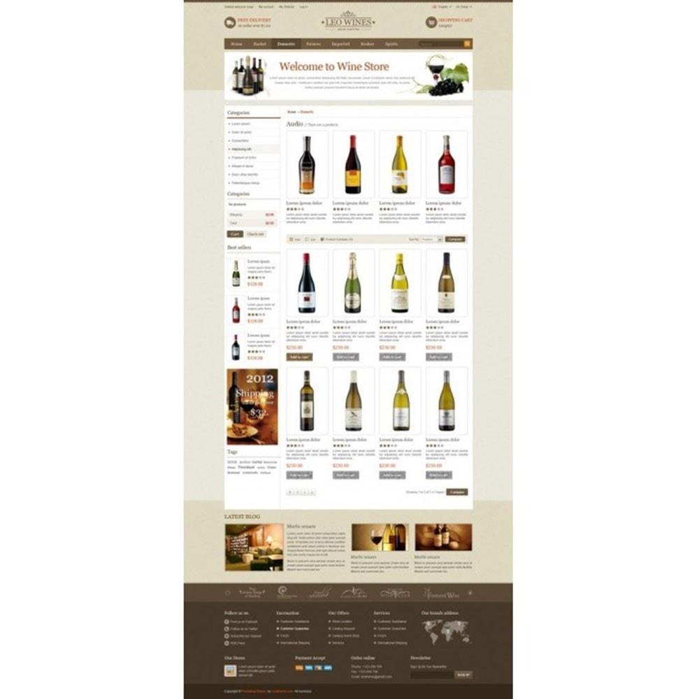theme - Getränke & Tabak - Leo Wines - Alkohol, Restaurant & Getränke - 3