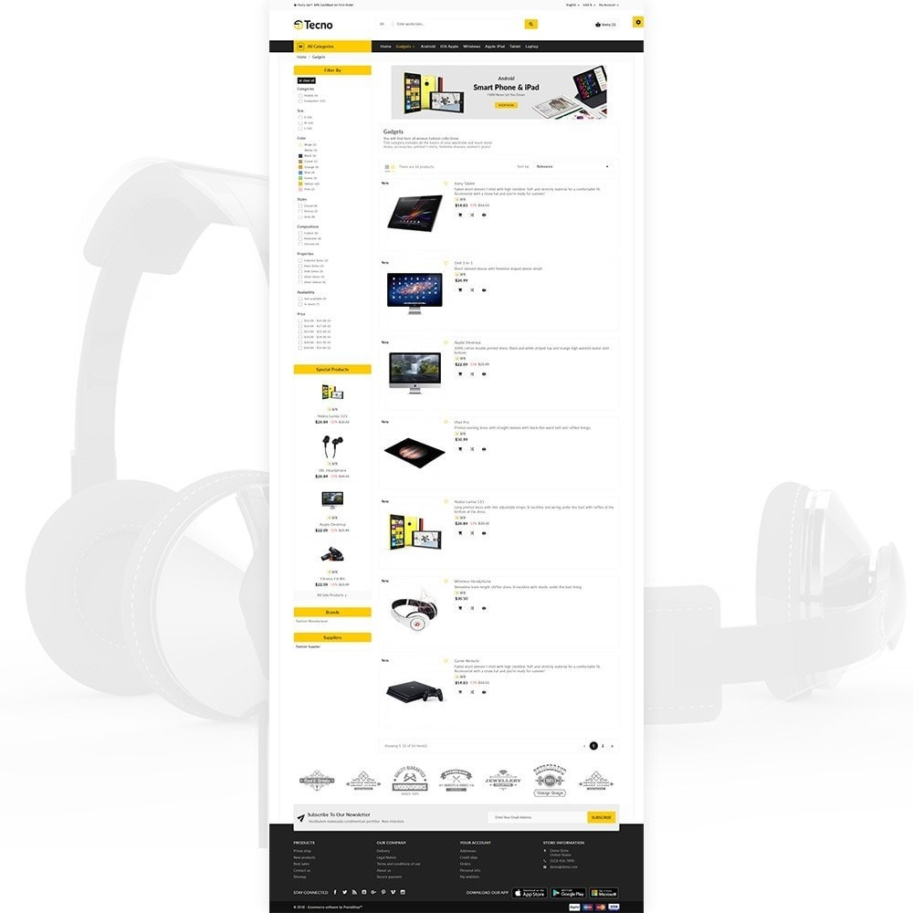 theme - Eletrônicos & High Tech - Tecno – The Electronic Multi Purpose Store - 3